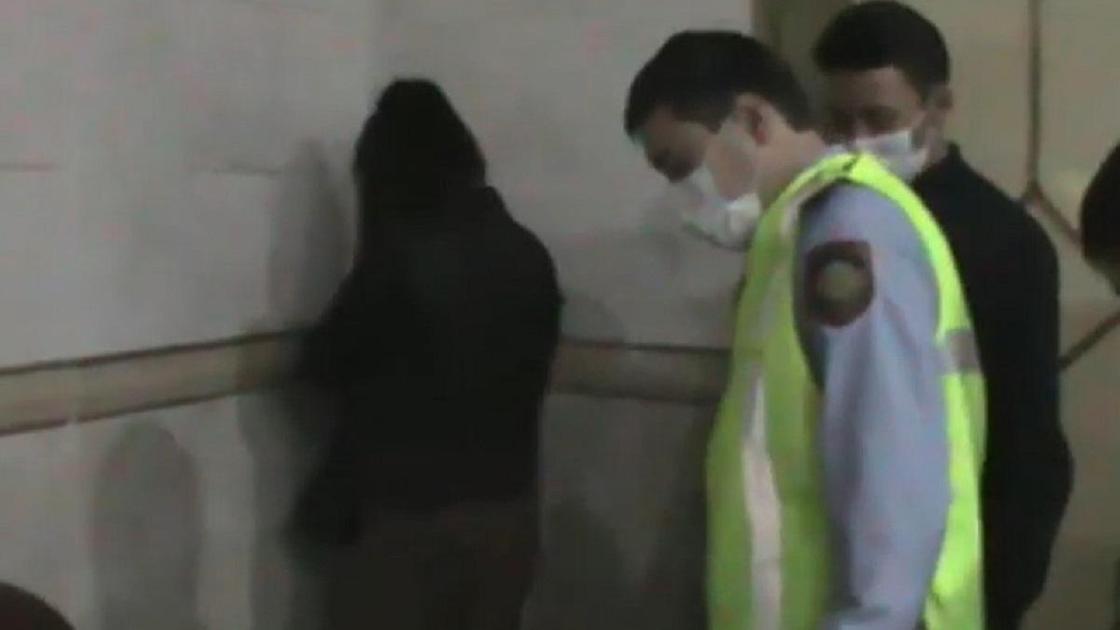 Задержание подозреваемой в Алматинской области