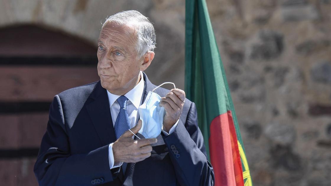 Президент Португалии Марсело Ребело де Соуза