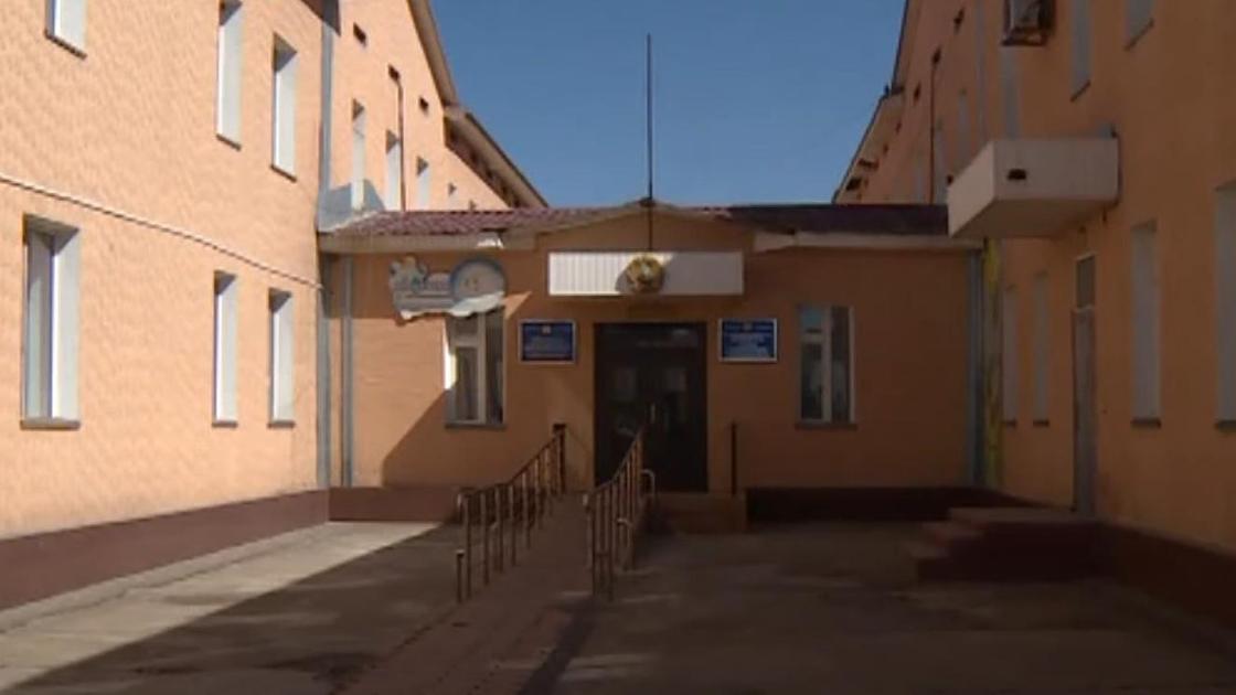 """Здание детского сада """"Болашак"""" в Туркестанской области"""