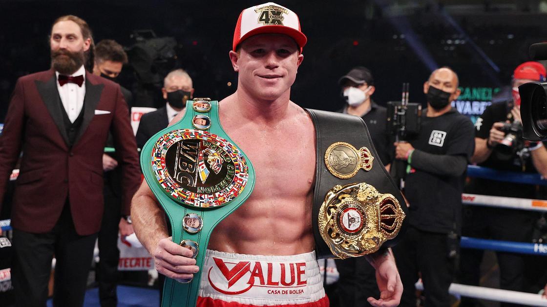 """Мексиканский боксер Сауль """"Канело"""" Альварес"""