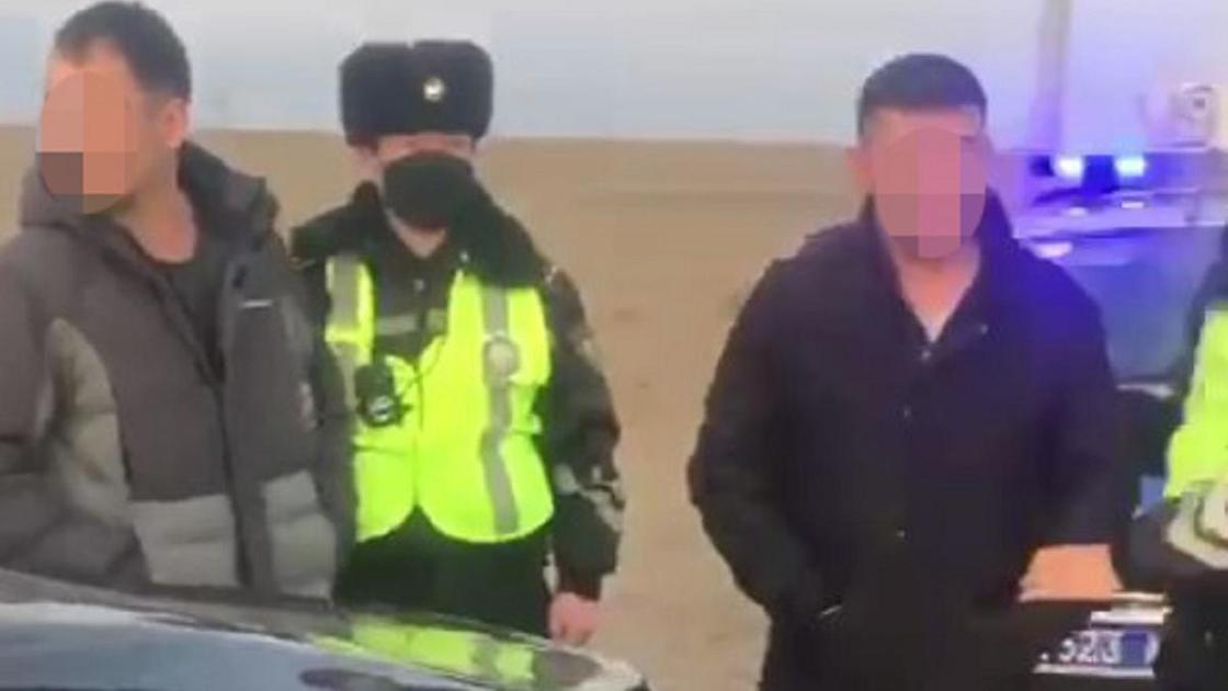 Задержание полицейских в Атырауской области