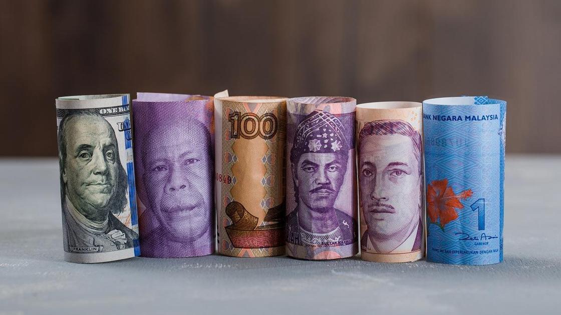 Виды разных валют