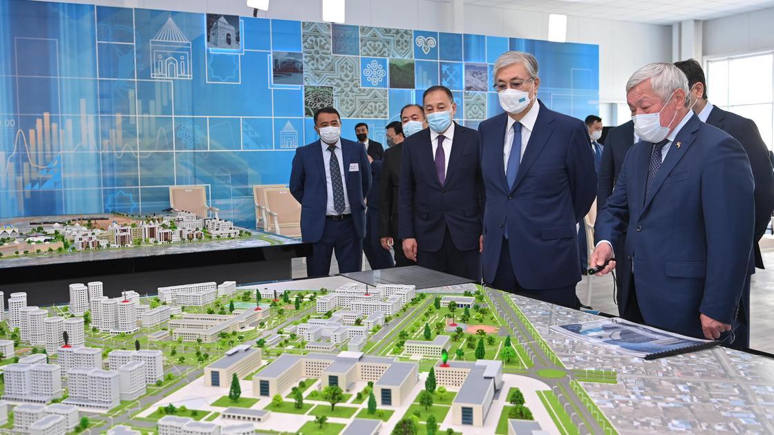 Главе государства представили инвестиционные проекты