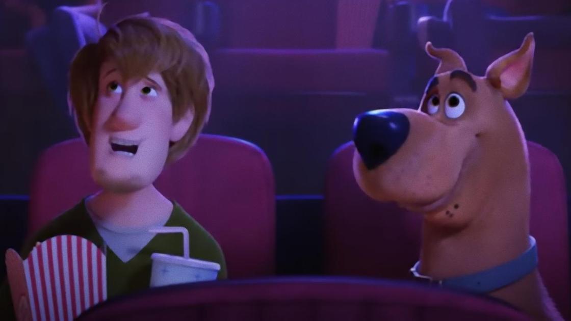 Кадр из мультфильма «Скуби-Ду»