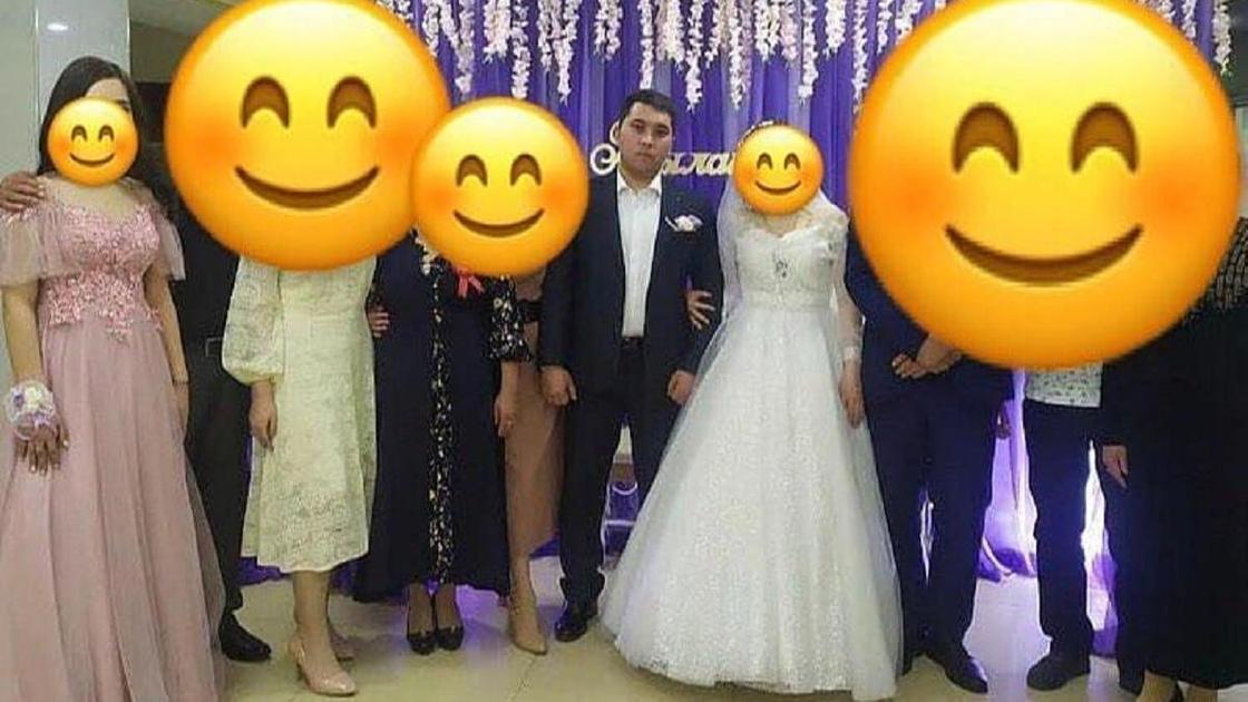 Полицейский устроил свадьбу в Жаркенте