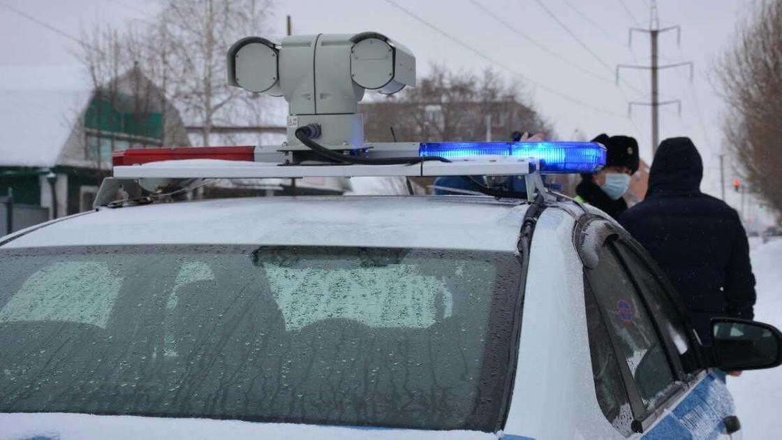 Служебное авто полиции