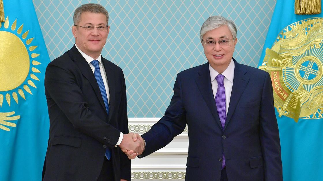Касым-Жомарт Токаев и Радий Хабиров