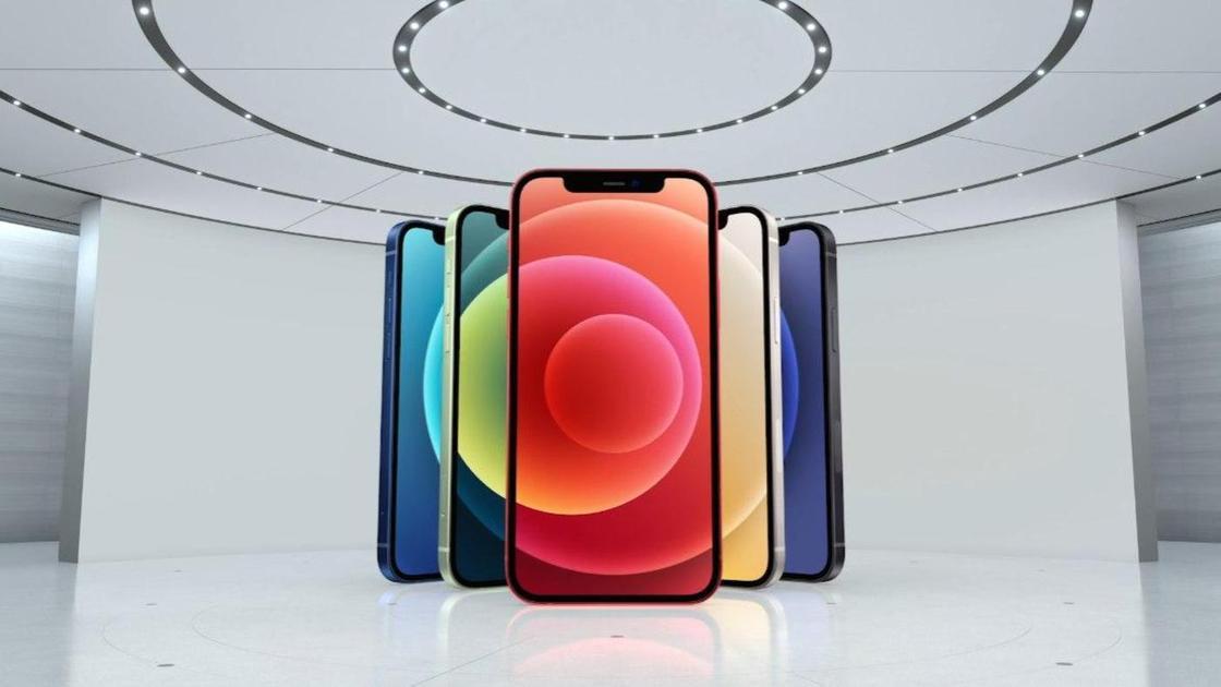 Новый iPhone в разных расцветках