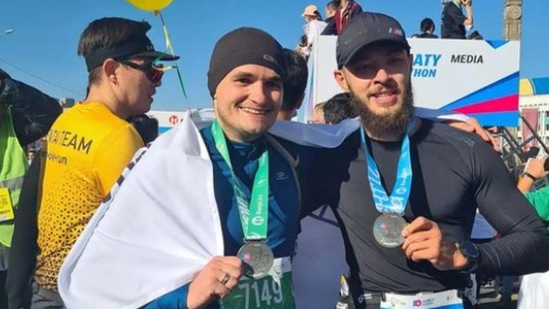 Алматы марафоны