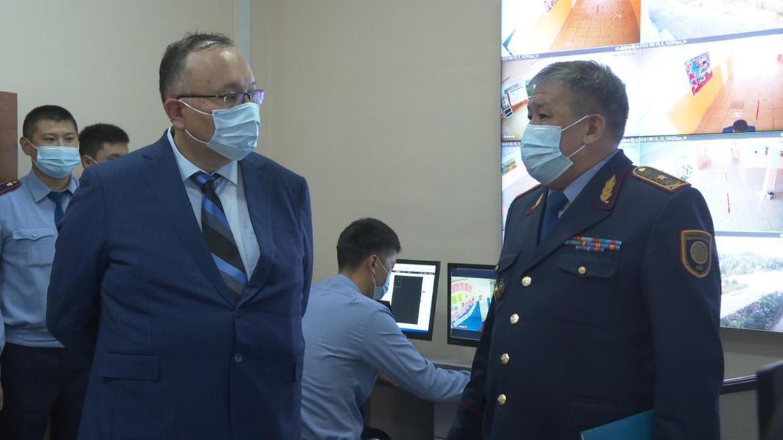 Кайрат Дальбеков и Куанышбек Есекеев