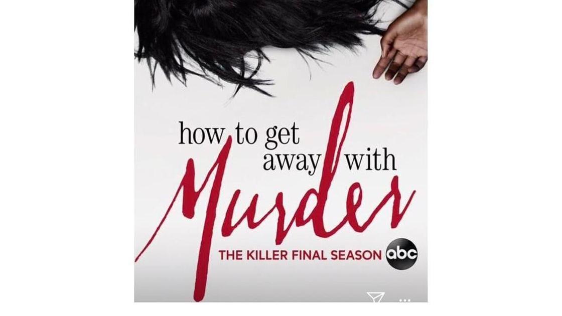 """обложка 6 сезона """"как избежать наказания за убийство"""""""