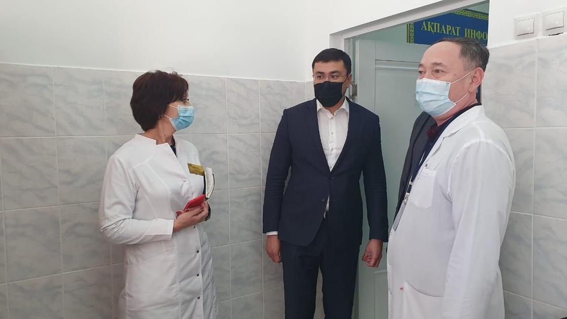 Вакцинация в Нур-Султане