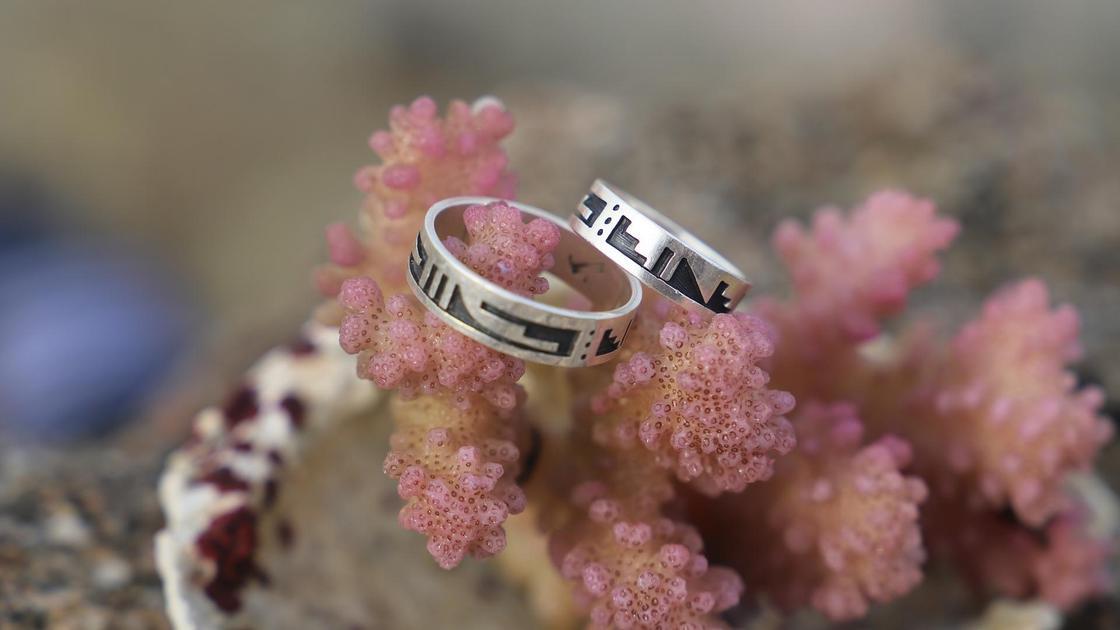 Коралл и два кольца
