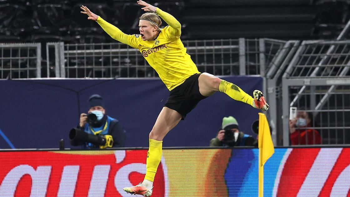 Эрлинг Холанд футбол боруссия дортмунд