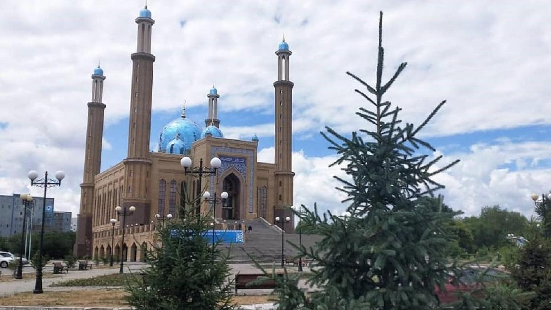 Панорама Усть-Каменогорска