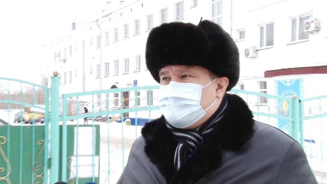 Николай Кожахметов дает интервью