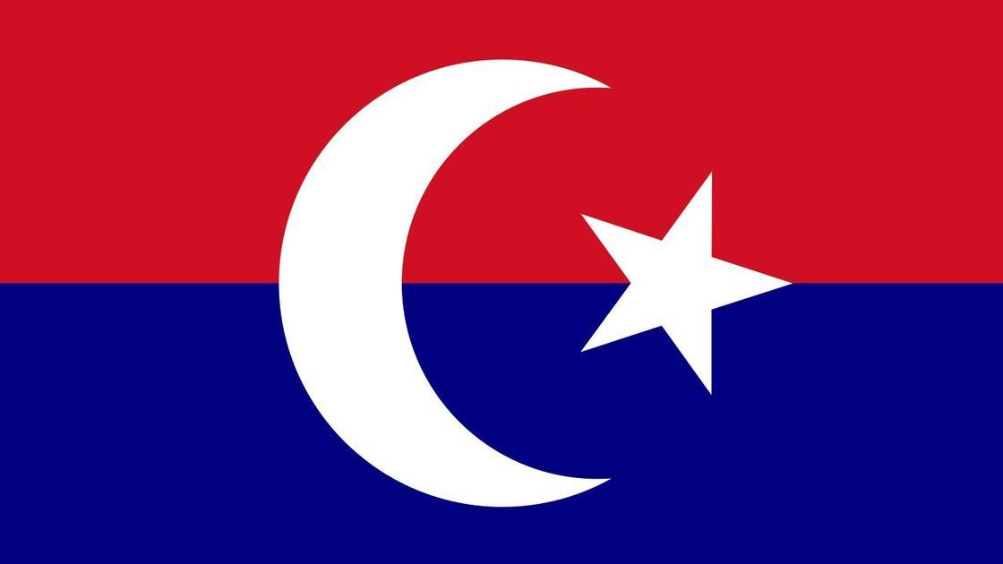 Флаг Туркестанской автономии