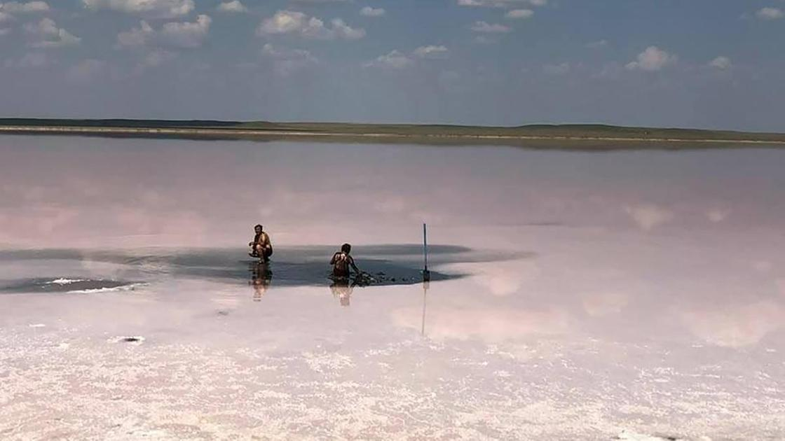 люди, озеро, озеро Кобейтуз