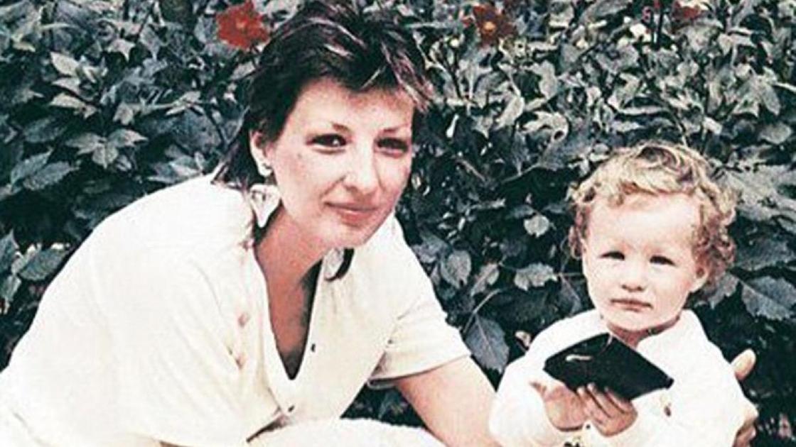 Кети Топурия с мамой