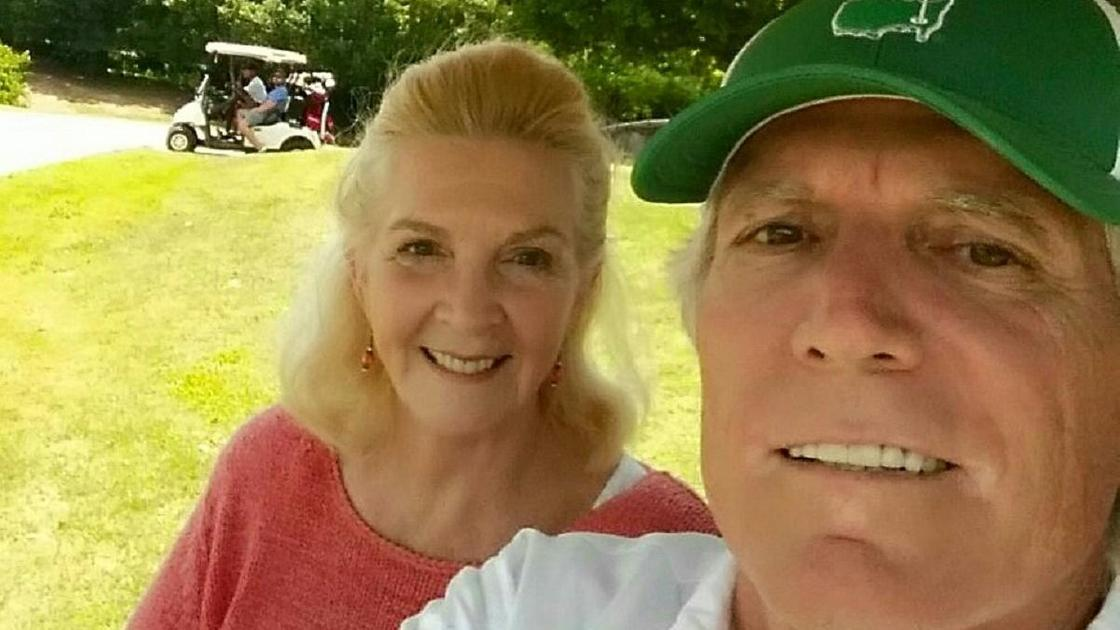 Барбара Гатри Лэй с мужем
