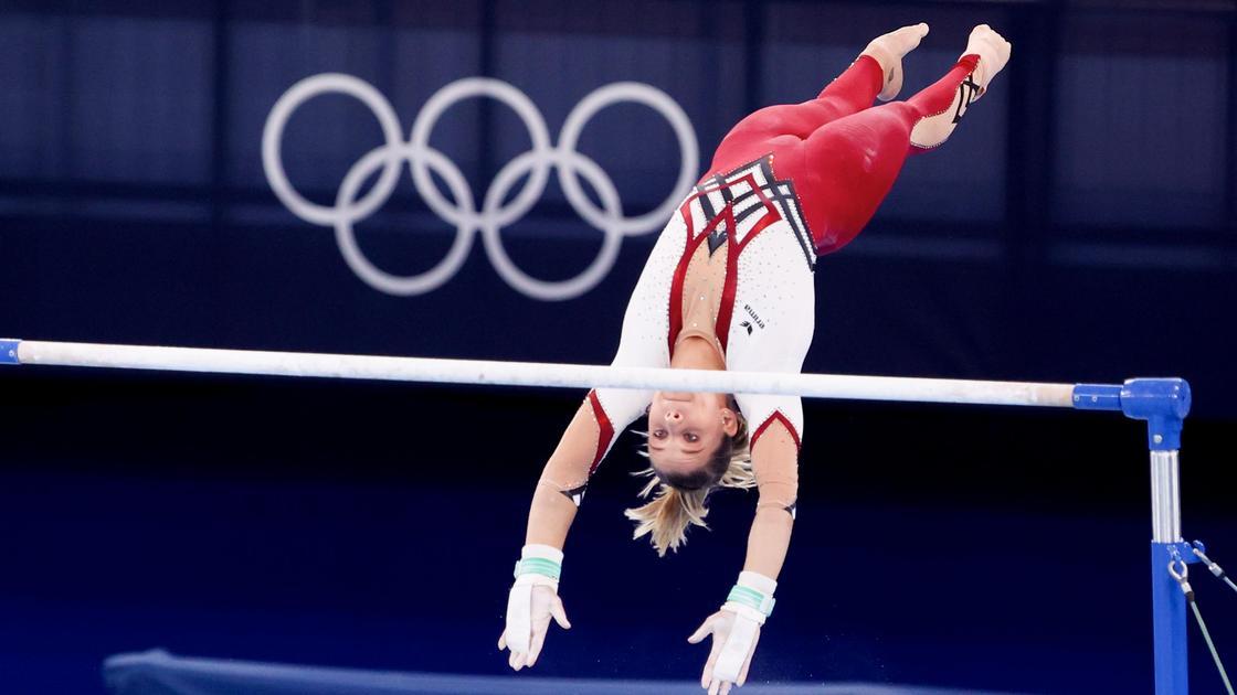 Гимнастка Элизабет Зейтц из Германии