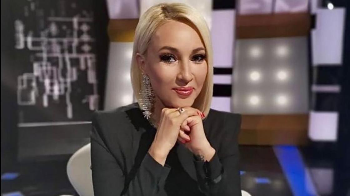 Российская ведущая Лера Кудрявцева