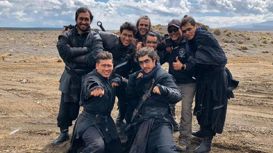 Участники группы каскадеров Nomad Stunts. Фото