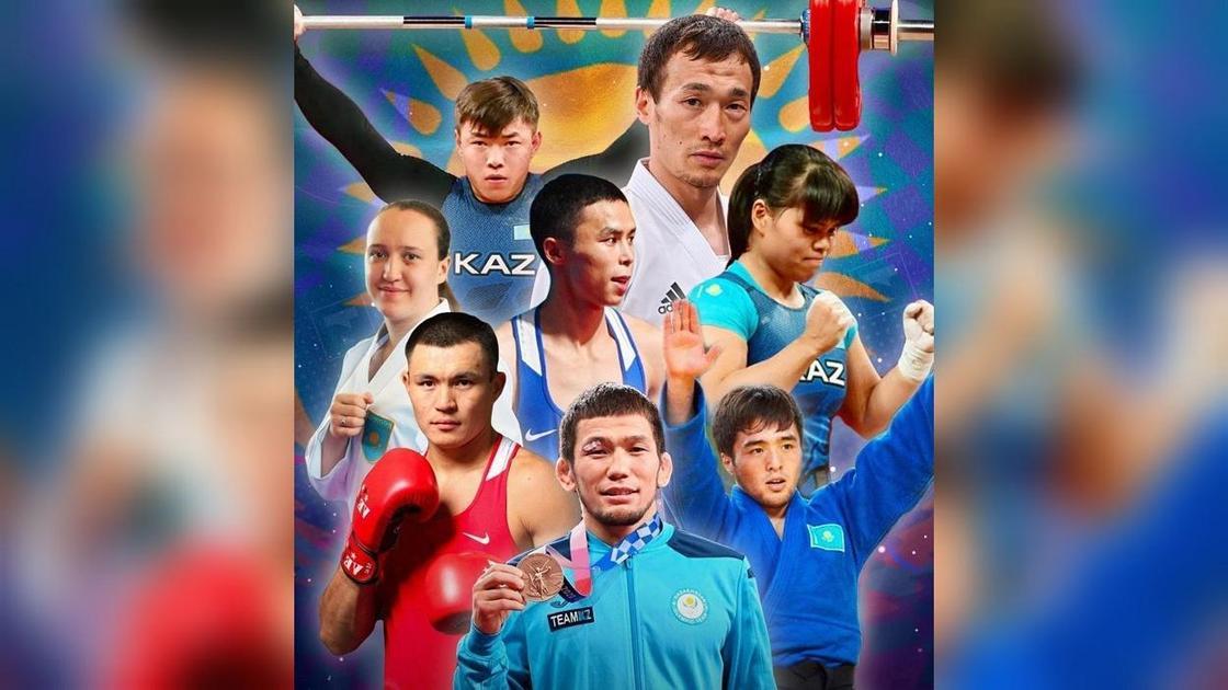 Олимпиада жүлдегерлері
