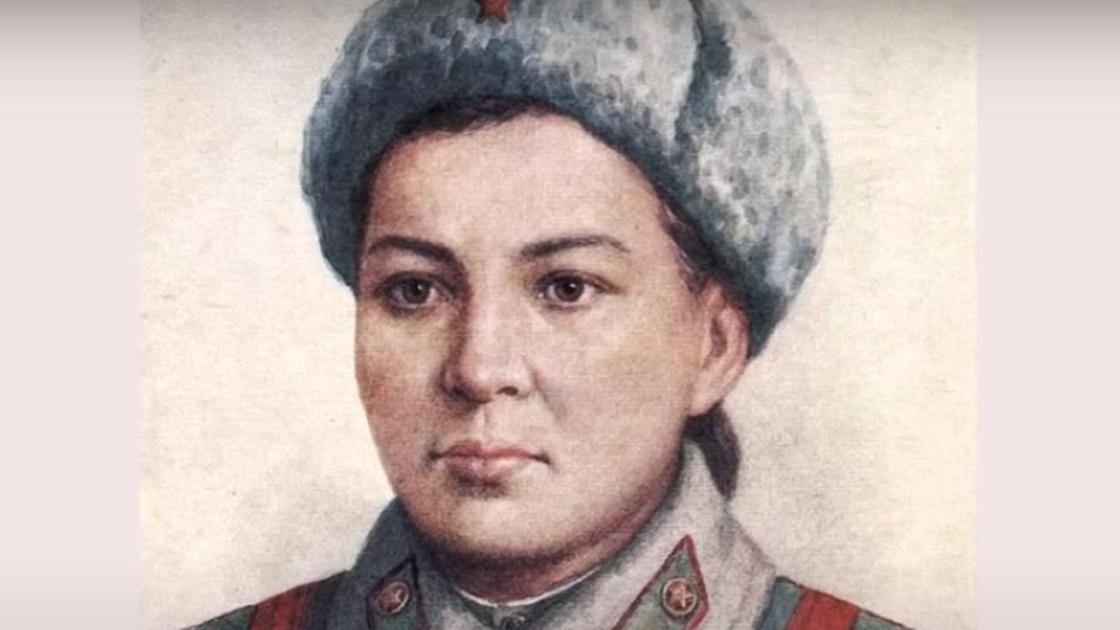 Портрет Маншук Маметовой