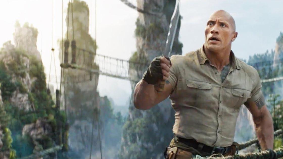 Кадр из фильма «Джуманджи: Новый уровень»
