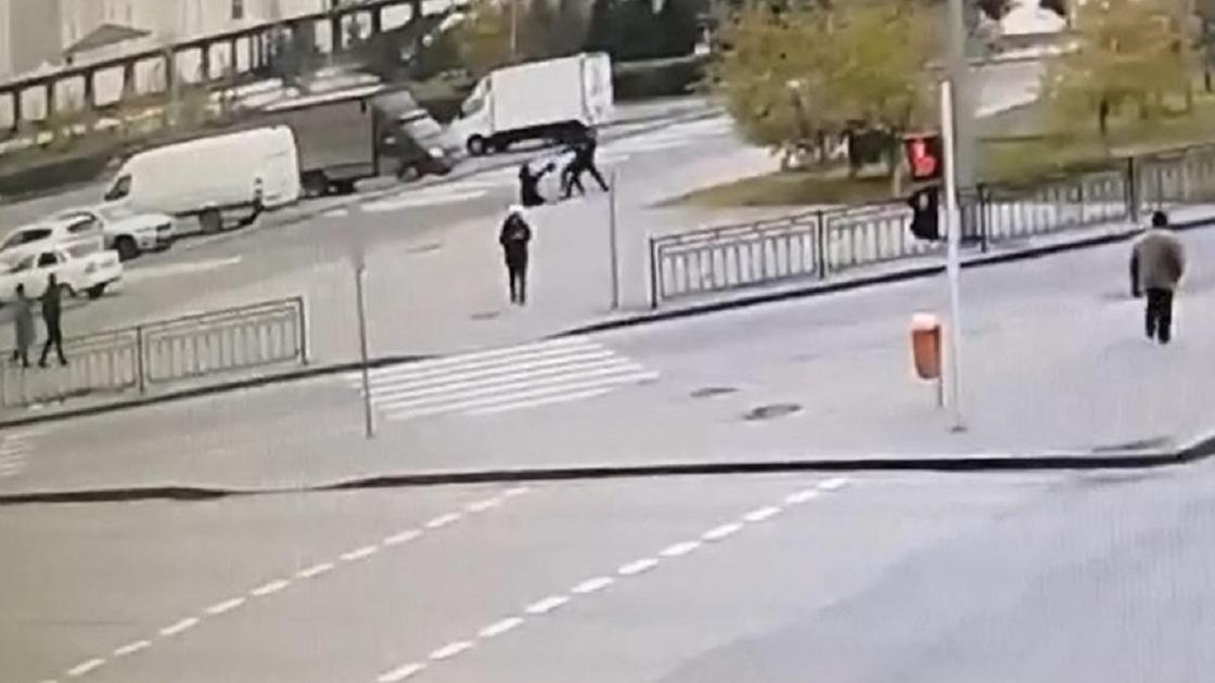 Нападение в Нур-Султане
