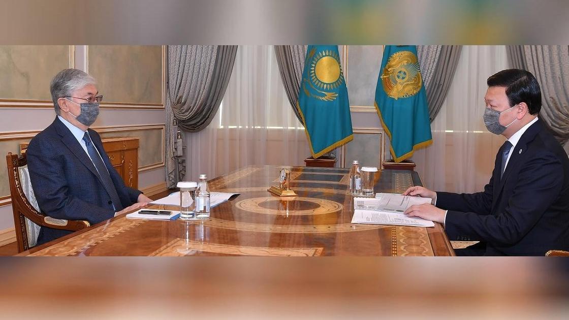 Касым-Жомарт Токаев и Алексей Цой