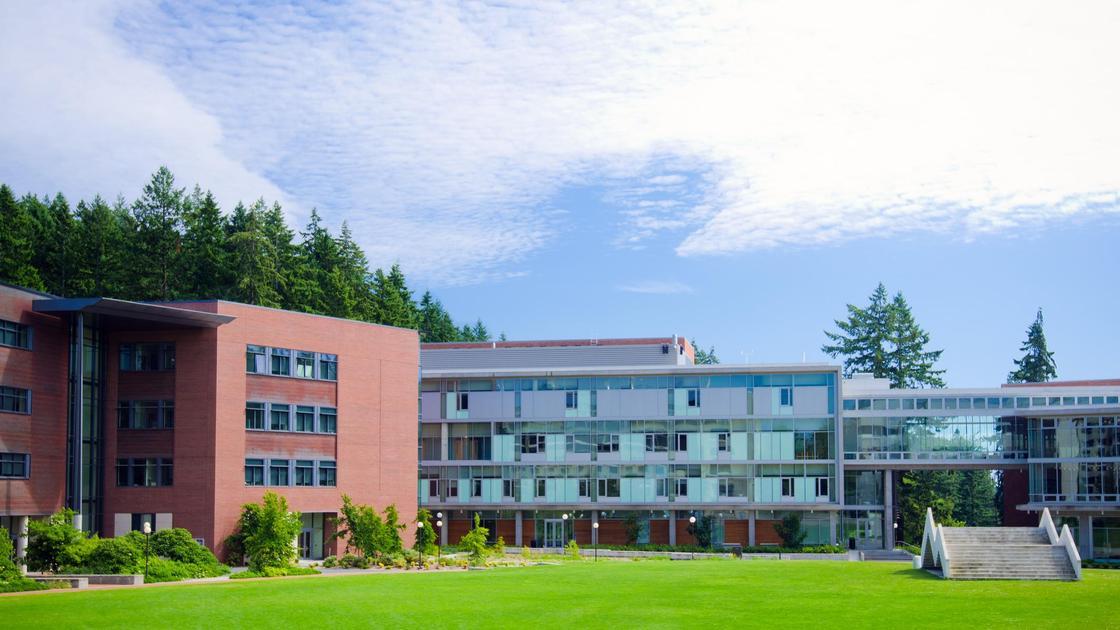 Один из кампусов в Университете Западного Вашингтона