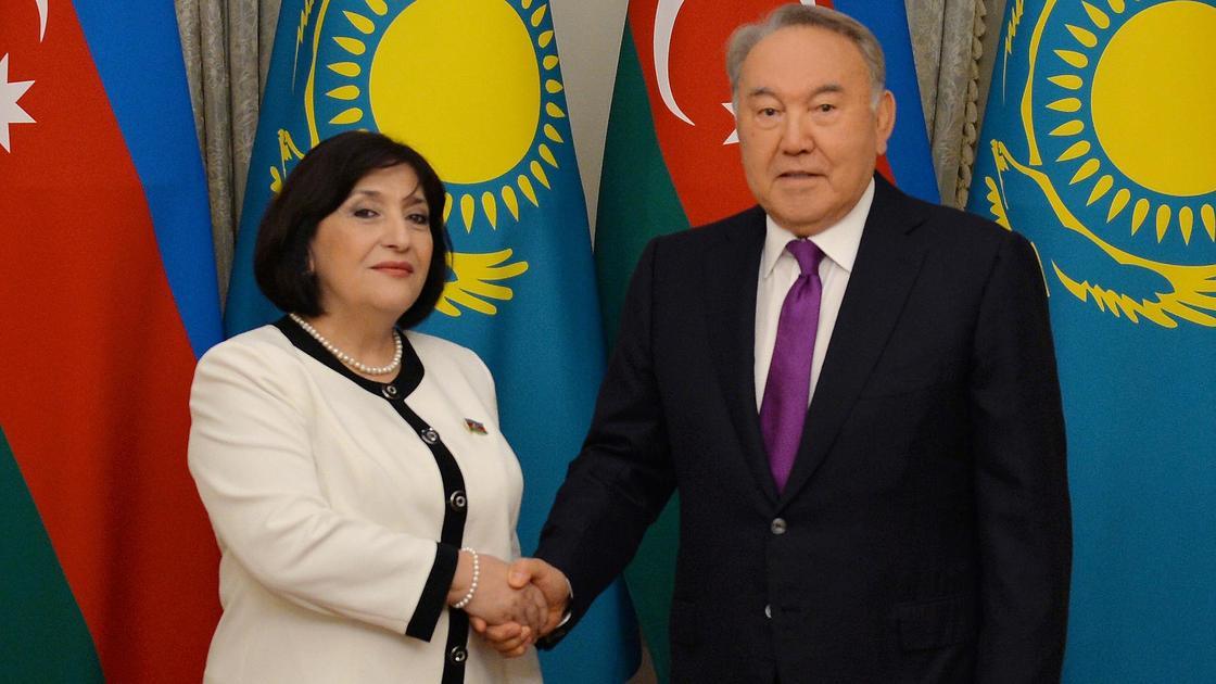 Нурсултан Назарбаев и Сагиба Гафарова
