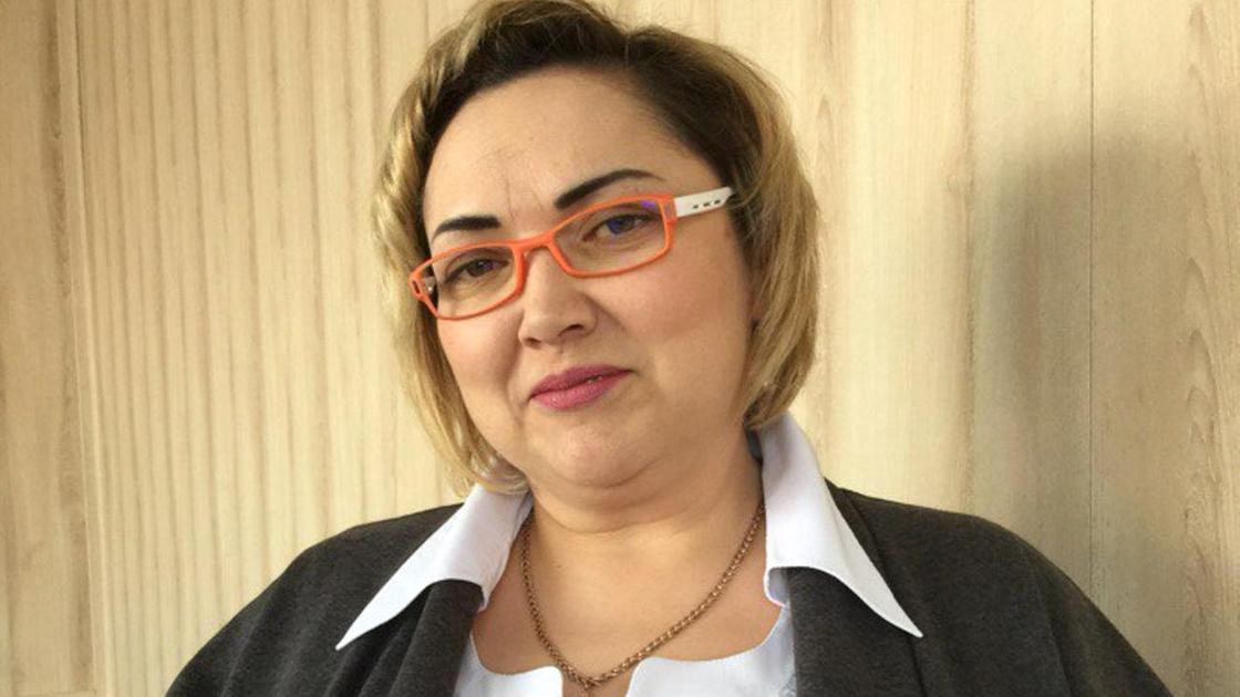 Тамара Рахимжанова. Фотопортрет