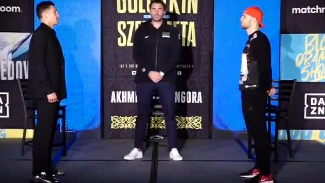 Геннадий Головкин и Камил Шеремета