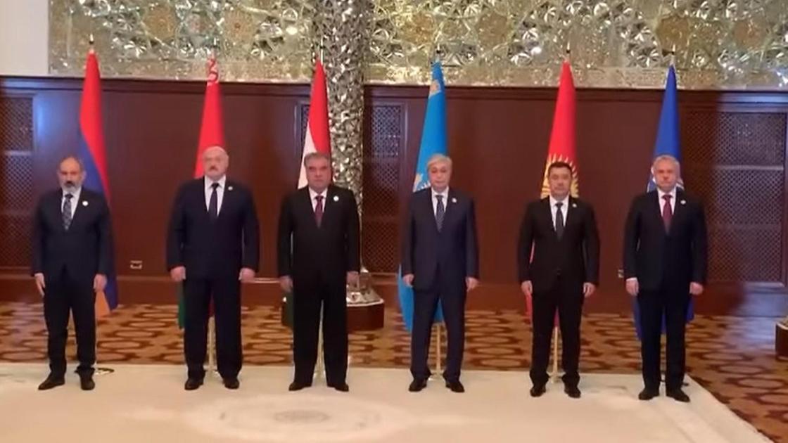 Президенты стран-членов ОДКБ