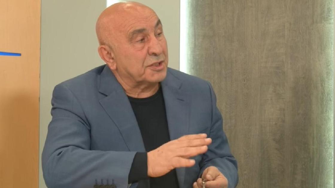 Гайк Тертерян дает интервью