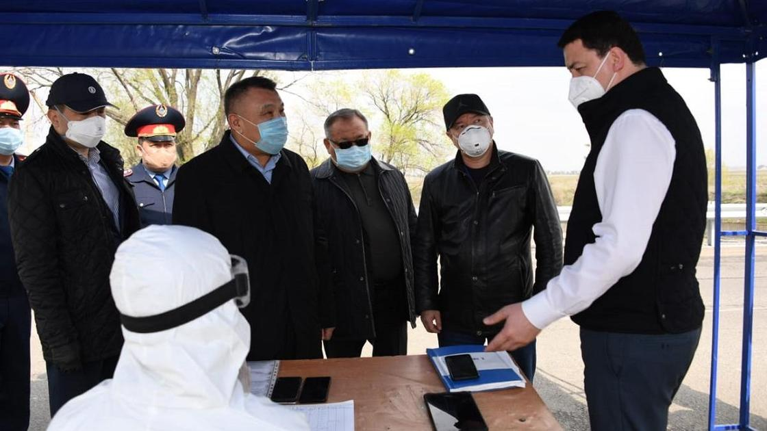В Алматинской области с рабочей поездкой побывал вице-министр здравоохранения РК Камалжан Надыров