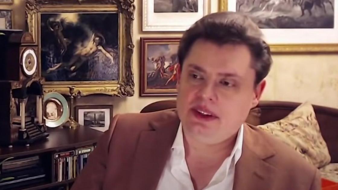 Российский публицист, актер и блогер Евгений Понасенков