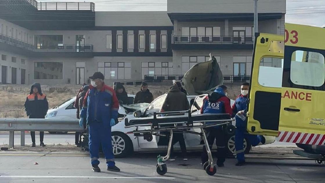 ДТП в Алматинской области