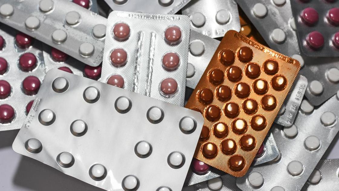 облатки таблеток