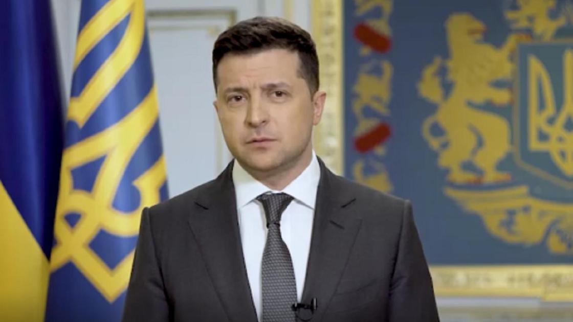 Владимир Зеленский выступает