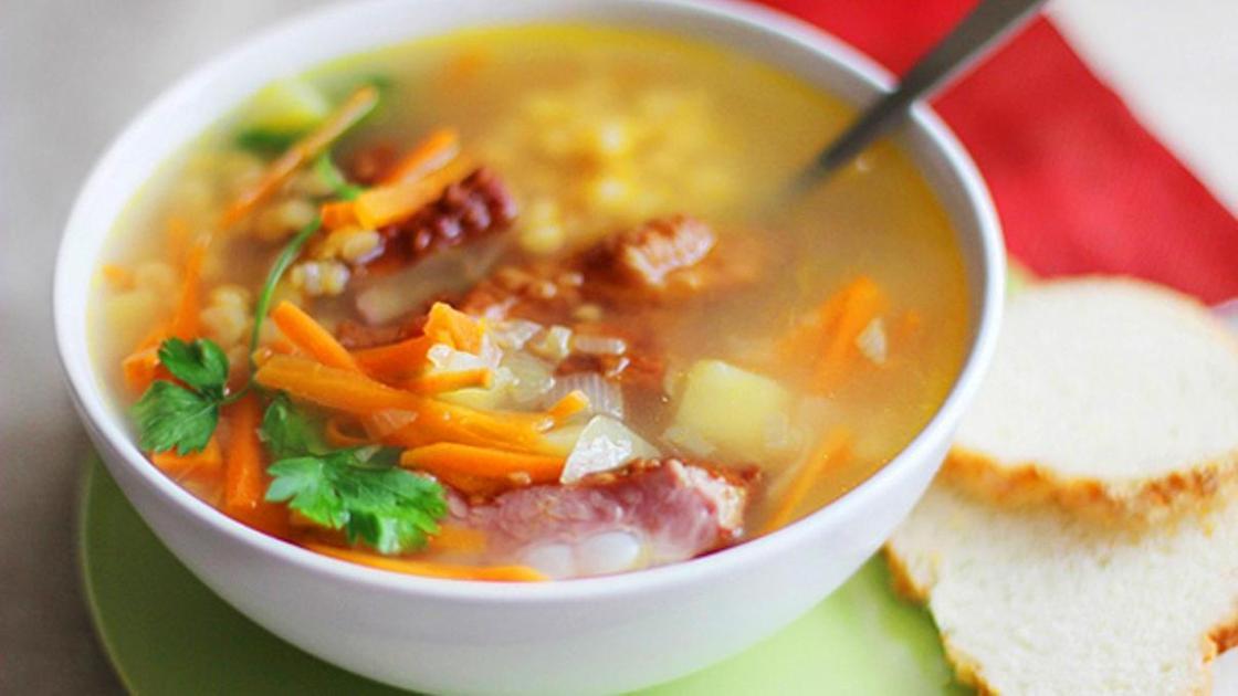 Как варить гороховый суп с копчеными ребрышками