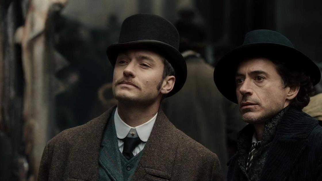 """кадр из фильма """"Шерлок Холмс"""""""