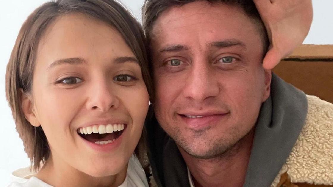 Павел Прилучный и Любовь Аксенова