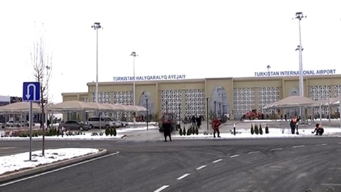 Түркістан әуежайы2