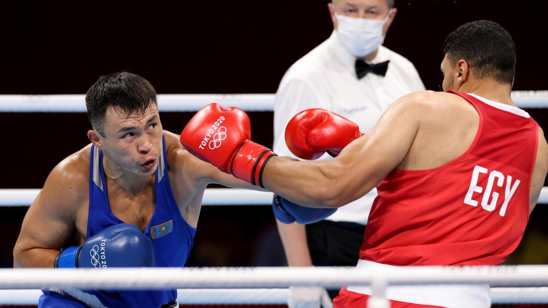 Боксер Камшыбек Кункабаев