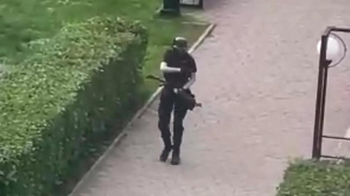Напавший на университет в Перми