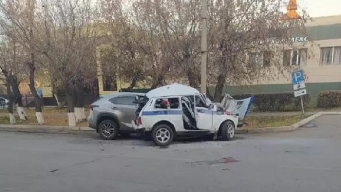 Жол апатынан екі полицей қаза тапты